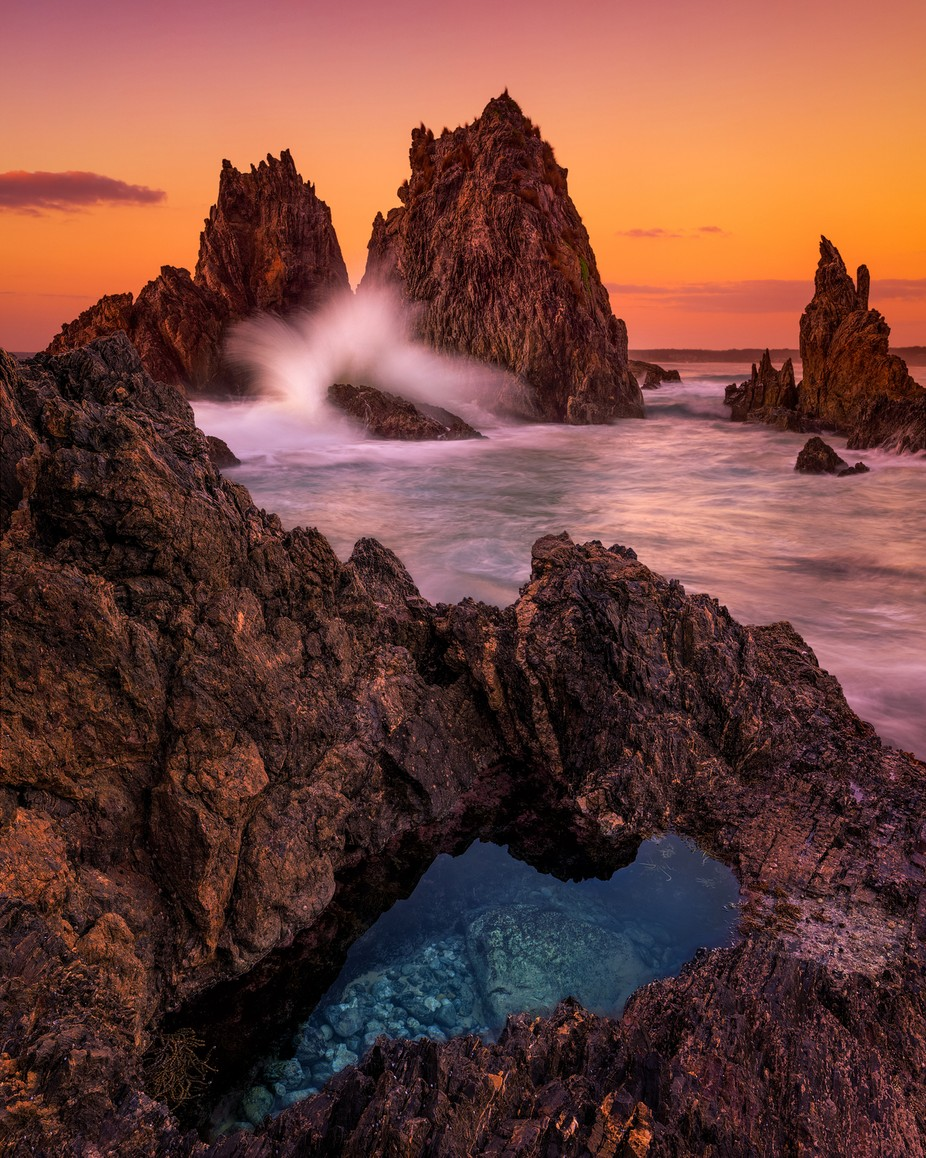 Camel Rock Bermagui by TrevJel - Boulders And Rocks Photo Contest