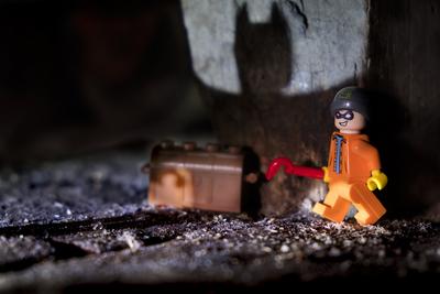 batman arrive...
