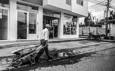 Working class of Colombia