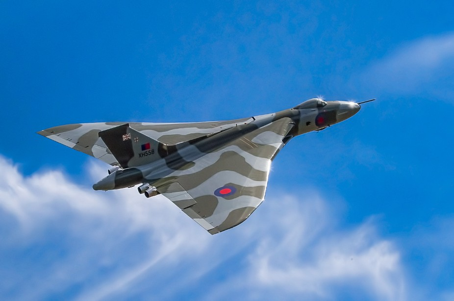 Avro Vulcan XH558 (military serial XH558, civil aircraft registration G-VLCN) The Spirit Of Great...