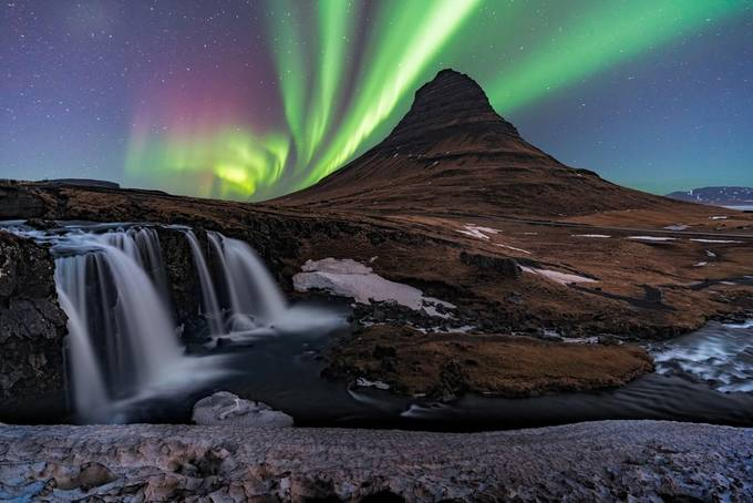 Kirkjufell Dreaming by mattpayne - Night Wonders Photo Contest