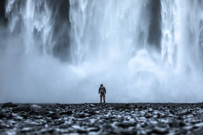 Skógafoss by ChrisVanLoan - Image Of The Month Photo Contest Vol 32