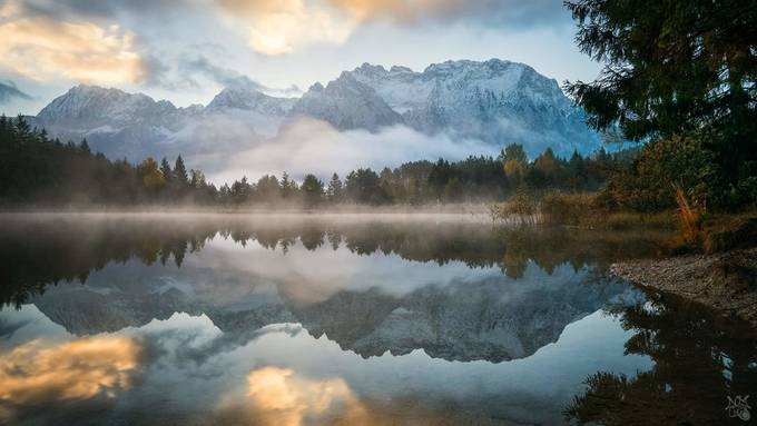 Mirror Luttensee by nicolasmller - Spectacular Lakes Photo Contest