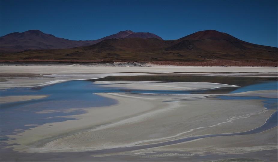 Unexpected shot of a desert. Atacama, Chile