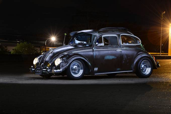 VW lightpaint by schrammy - Social Exposure Photo Contest Vol 16