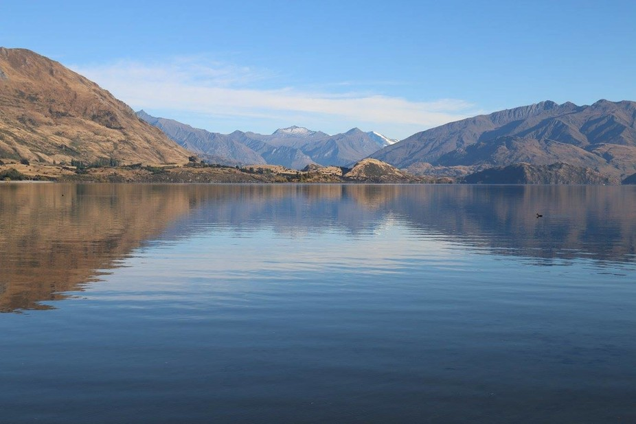 The small New Zealand town of Wanaka resides on the shores of 26 mile long Lake Wanaka in the she...