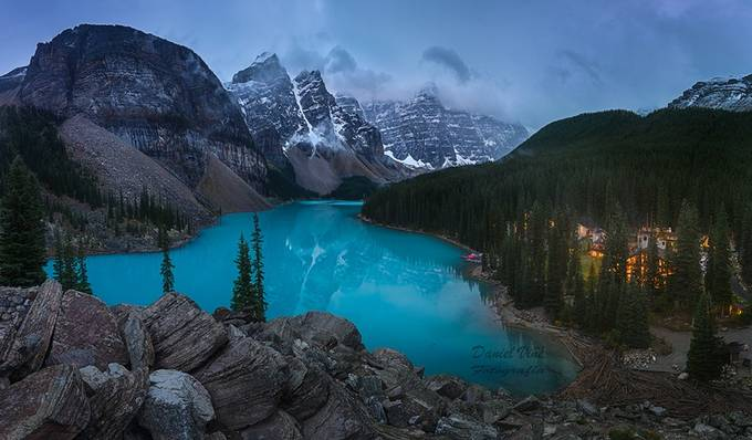 Moraine lake, Banff National Park, Alberta, Canada by Danielvg - Spectacular Lakes Photo Contest