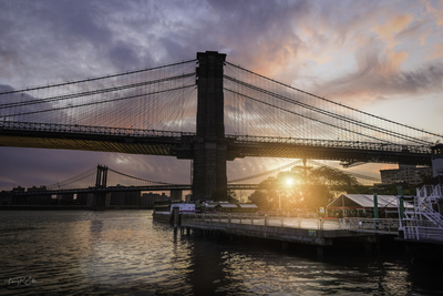 Brooklyn Bridge Sunrise