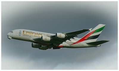 A380 BHX to DXB