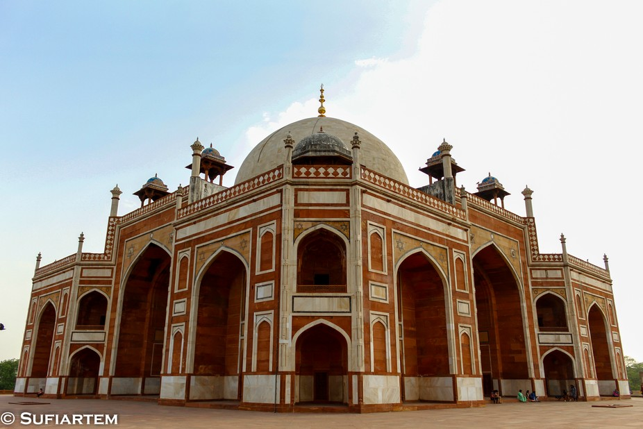 Humayun's tomb, travel and architecture photography