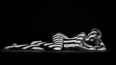 Striped Satine