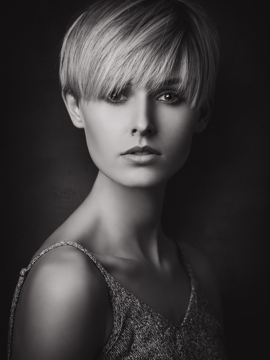 Black and white female portraits photo contest winners viewbug com
