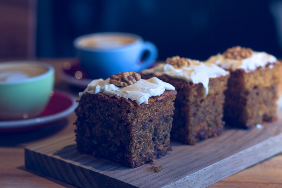 Coffee & carrot cake