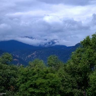 Mist Over Pikes Peak