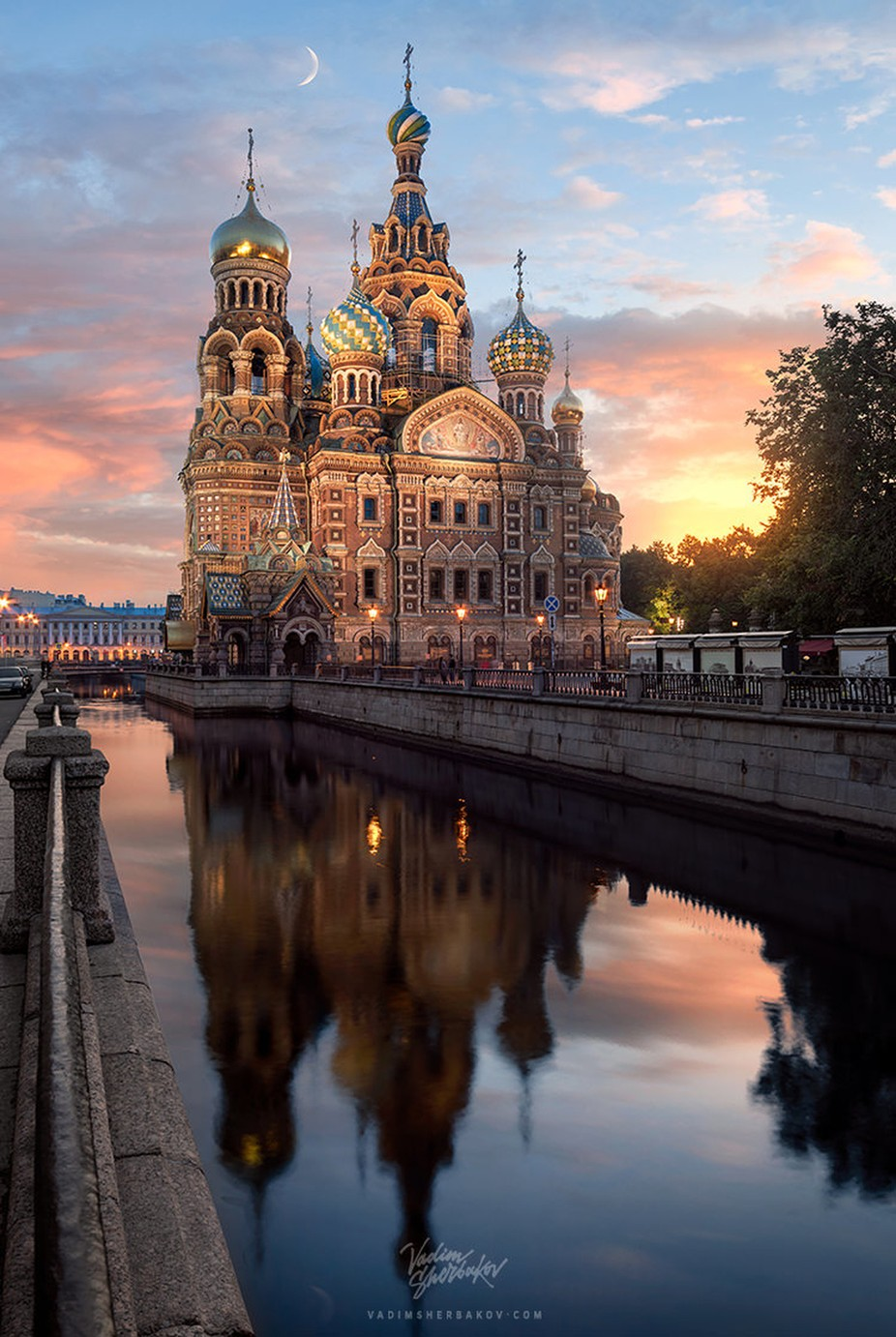 Saviour on the Blood by Madebyvadim - Sunset And The City Photo Contest