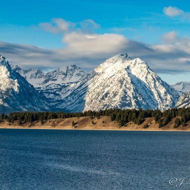 Jackson Lake Grand Tetons National Park