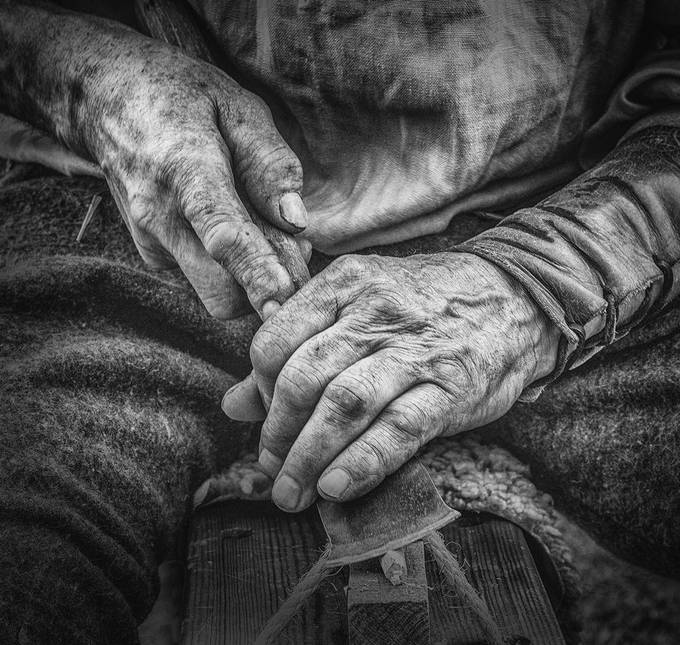 Carpenters Hands  by rogerbradshaw - Image Of The Month Photo Contest Vol 32