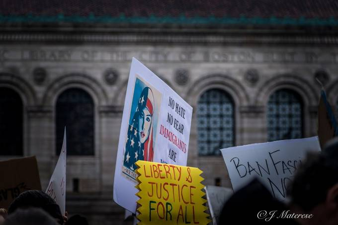 Boston Protest Against Ban On Muslim Immigrants 21