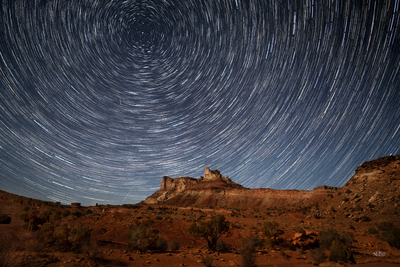 Star Trail Sky