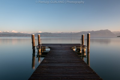 Sunrise At Garda Lake