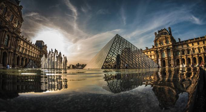 Pyramid by Cyrsiam - Paris Photo Contest