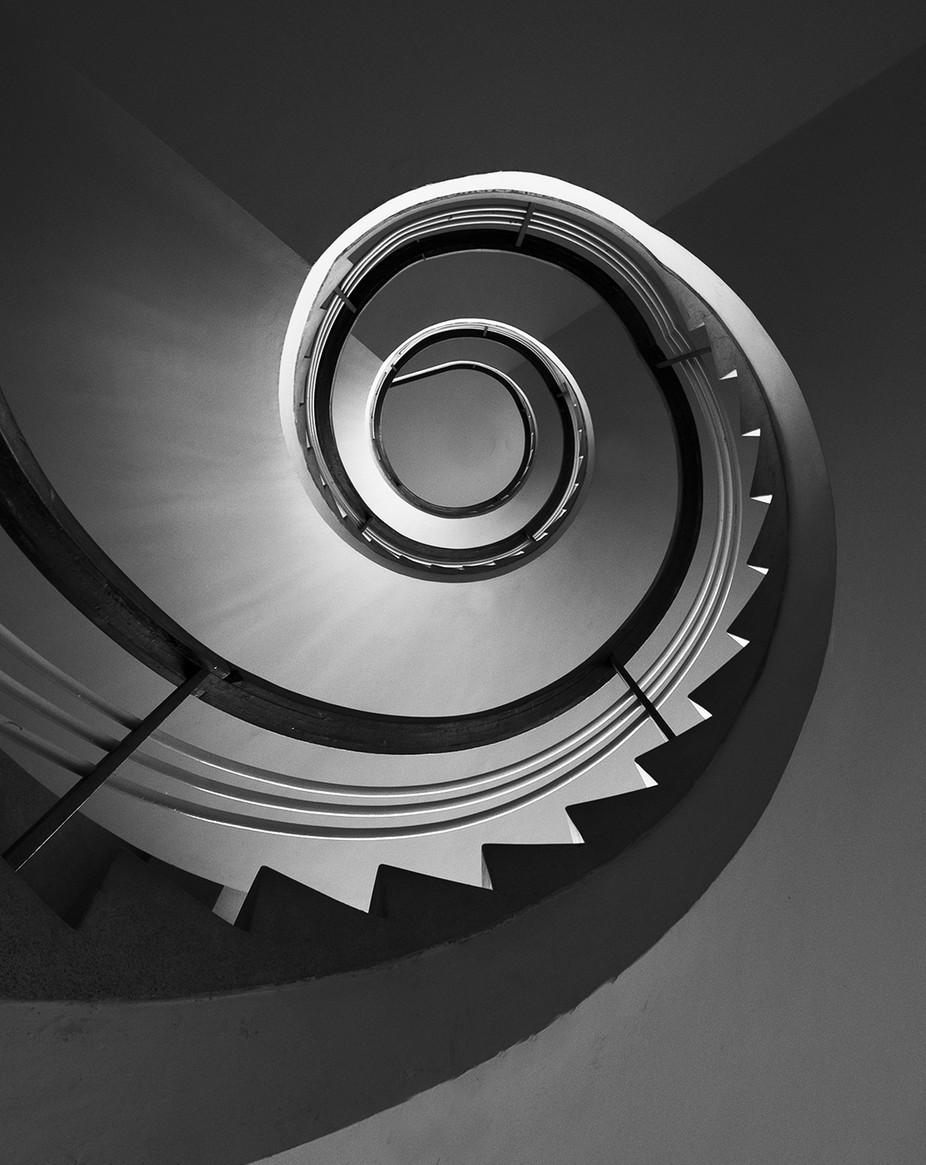 Spiral staircases by joaocabral - Spirals And Composition Photo Contest