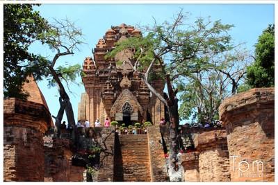 Champa Tempel Anlage in Nha trang