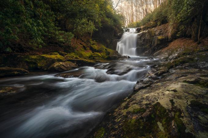 Middle Prong Falls by ryanshanahan - Image Of The Month Photo Contest Vol 33