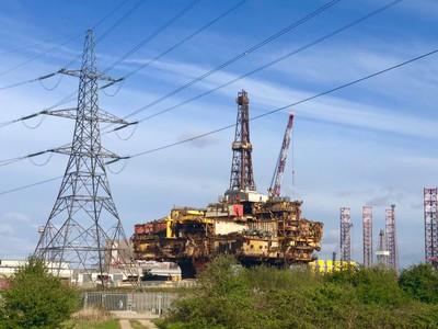 Brent Delta decommissioning