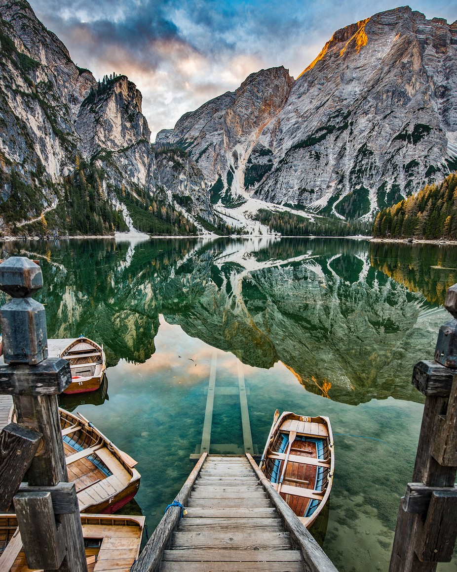 Braies 3 by tommycimarelli - Spectacular Lakes Photo Contest