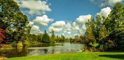 april at Sheffield Park, National trust