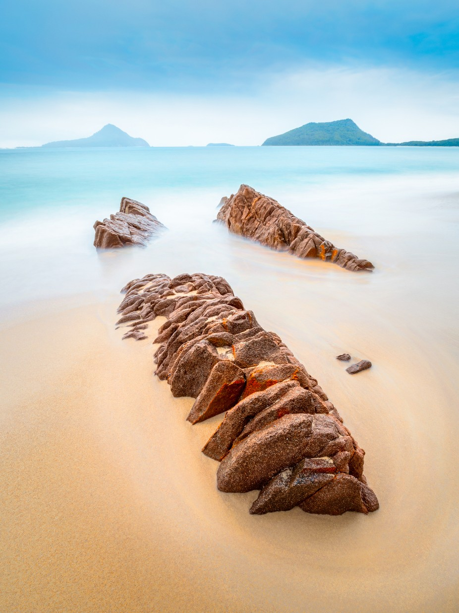 Rock, Water, Rock by mjsmithphoto - Boulders And Rocks Photo Contest