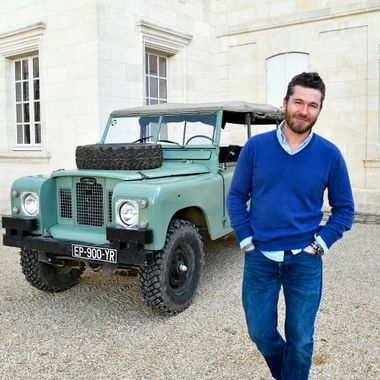 Winemaker and Series 3 Land Rover