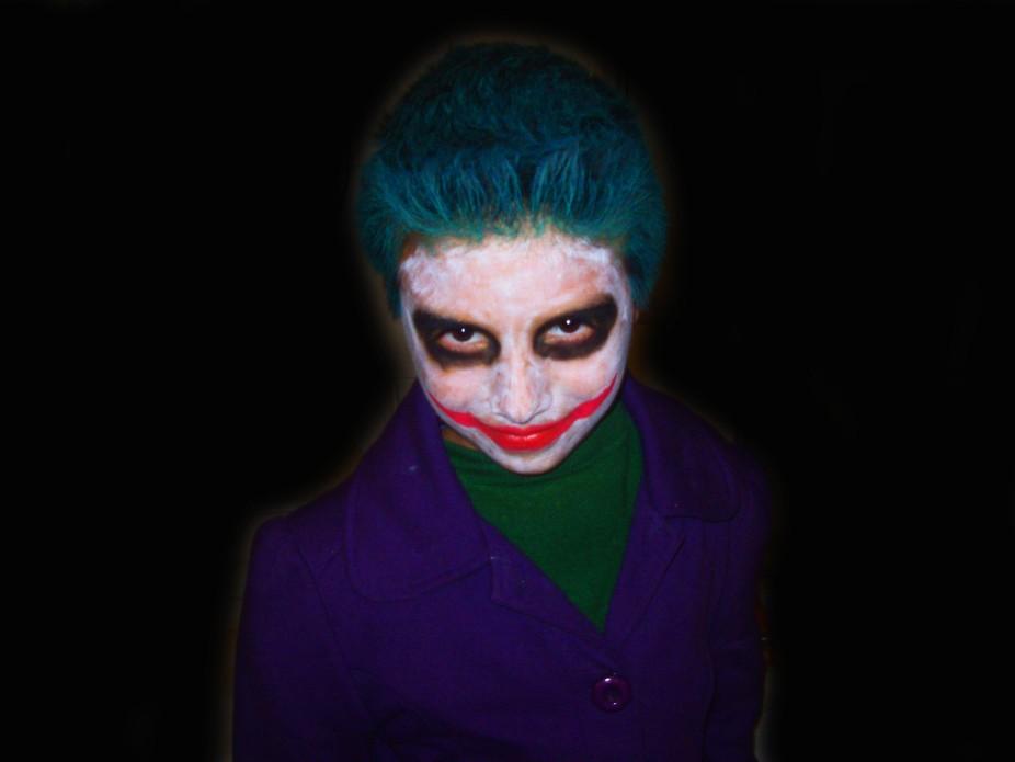 Mi hijo disfrazado para Halloween 2015