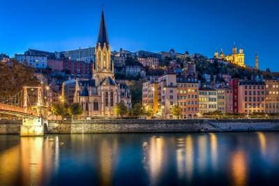 Quartier St-Georges à Lyon