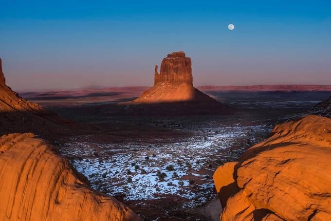 Monument Valley by larrymarshall - Orange Tones Photo Contest