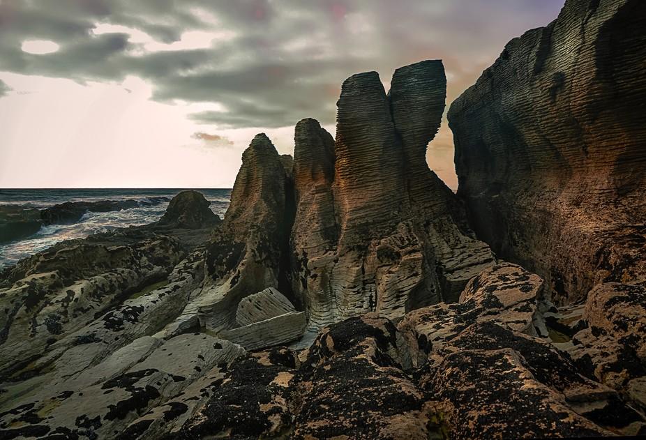 Pancake rocks, West Coast, NZ
