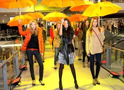 Fashion show. Stockmann Nevsky Center. Saint-Petersburg.