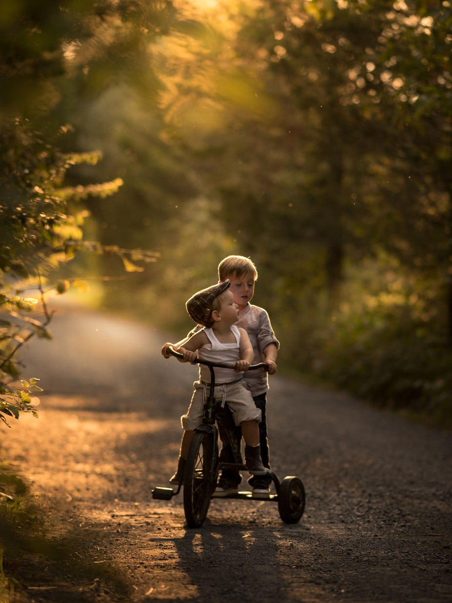 brothers (the old bike) by Iwona - Social Exposure Photo Contest Vol 16