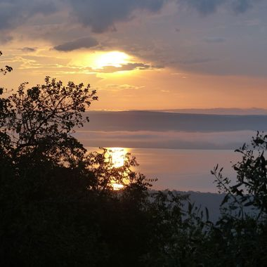 Sunrise at Lake Ihema