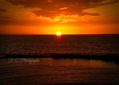 hawiian sunset