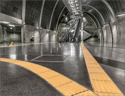 "Metro Station Cologne ""Heumarkt"""