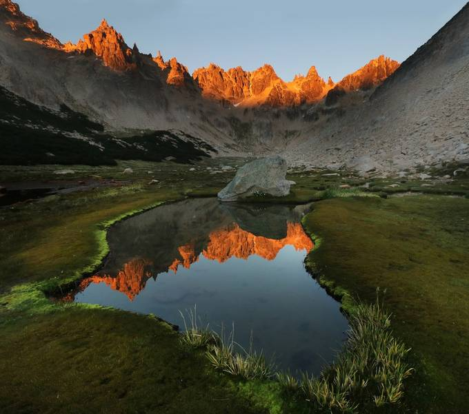 IMG_750-1717m8 Catedral Range sunrise 3 by JHancock - Spectacular Lakes Photo Contest