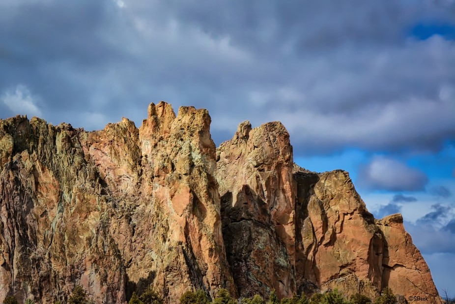 Central Oregon State Park....Rocks were so beautiful just after a storm passed...