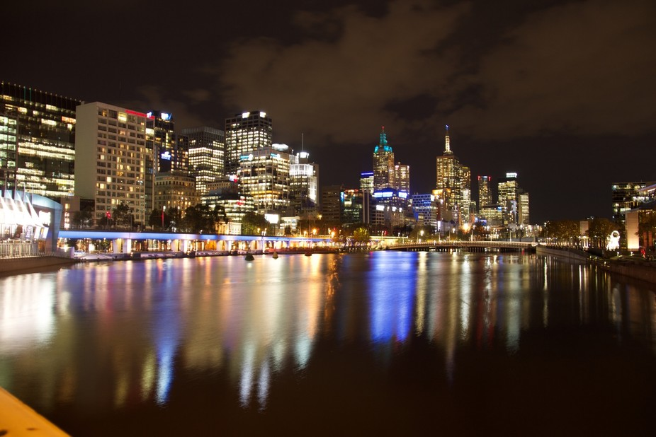 Melbourne on the left, Crown complex on the right.  All my Daughter wanted to do for her 9th birt...
