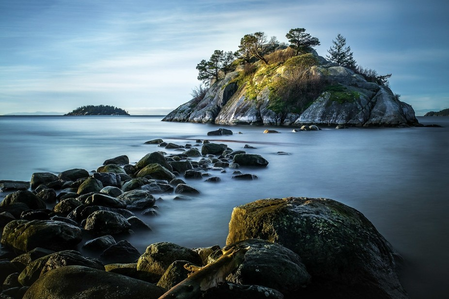 This photo was made at Whytecliff Park in West Vancouver while I waited for my son to complete hi...