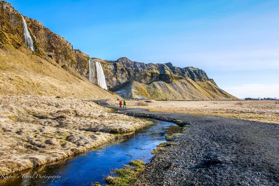 Seljalandsfoss , Iceland