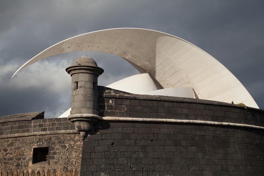 Auditorio Adán Martín , diseño del arquitecto Calatrava