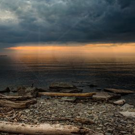 This Picture was taken in Oswego, NY overlooking Lake Ontario. Picked a great night to head down to the Lake and do some shooting. The Sky was al...