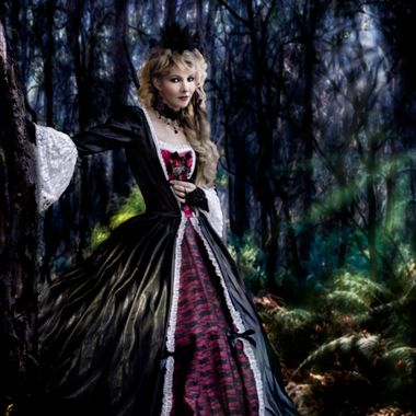 The forest maiden lures you to her leafy bower.